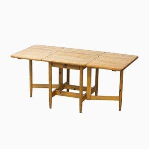 Mesa de comedor Pirtti abatible de Eero Aarnio para Laukaan Puu, años 60