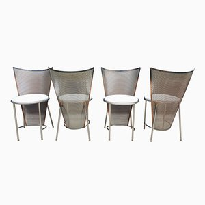 Mid-Century Chairs by Frans Van Praet for Belgo Chrom, Set of 4
