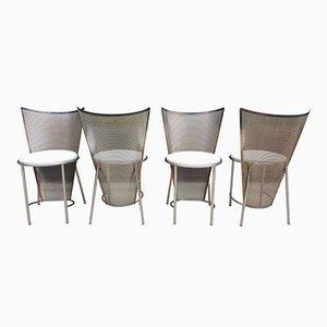 Mid-Century Stühle von Frans Van Praet für Belgo Chrom, 4er Set