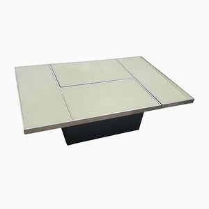 Mid-Century Modern Sliding Coffee Table from Belgo Chrom