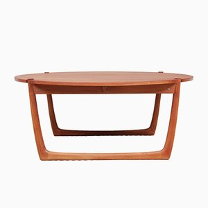 Scandinavian Teak Coffee Table by Peter Hvidt for France & Søn, 1961