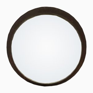 Großer Vintage Konvex Spiegel