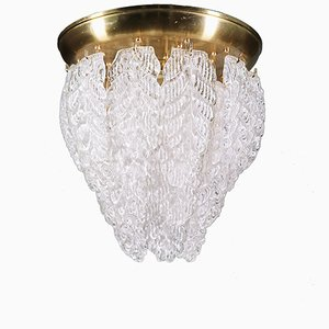 Mid-Century Murano Glass Chandelier from Barovier e Toso, 1960s