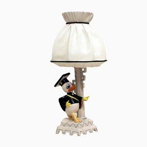 Lámpara de mesa Disney de G. Girardi, años 50