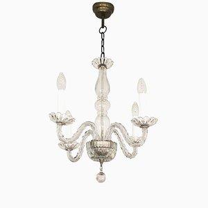 Mid-Century Venetian Glass Chandelier
