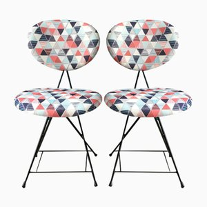 Dutch F&T Chairs by Rob Parry, 1950s, Set of 2