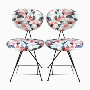 Niederländische F&T Stühle von Rob Parry, 1950er, 2er Set