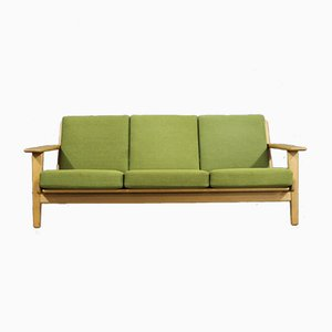 Model GE290 Oak 3-Seater Sofa by Hans J. Wegner for Getama, 1960s