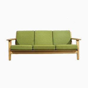 Sofá de tres plazas modelo GE290 de Hans J. Wegner para Getama, años 60