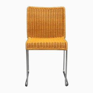 Model S.21 Dining Chair by Tito Agnoli for Bonacina, 1980s