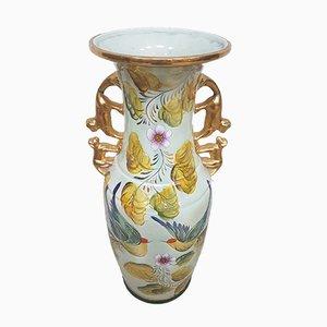Vaso in ceramica di Henri Bequet per M. Depose, anni '70