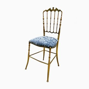 Vintage Italian Chiavari Brass Chair