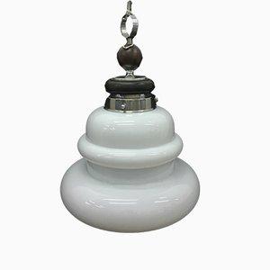 Lámpara colgante italiana era espacial, años 60
