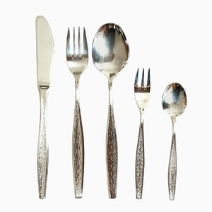Flamenco Flatware Cutlery Set from Berndorf, 1976