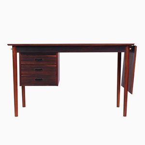 Extending Rosewood Desk by Willy Sigh for Sigh & Søns Møbelfabrik, 1950s