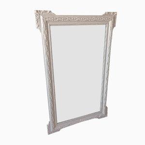 Großer Vintage Spiegel mit Modelliertem Rahmen