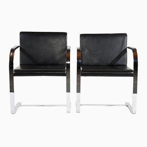 Mid-Century Modern Flatbar Brno Sessel von Mies van der Rohe, 1960er