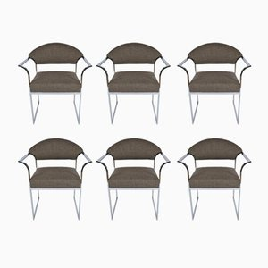 Chaises de Salon Mid-Century Modernes, 1960s, Set de 6