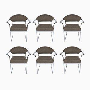 Mid-Century Modern Esszimmerstühle, 1960er, 6er Set