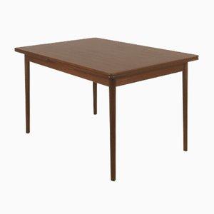 Table de Salle à Manger Extensible Modèle 145 en Teck par Willy Sigh pour H. Sigh & Søn Møbelfabrik, Danemark, 1960s