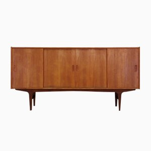 Vintage Danish Teak Veneered Highboard