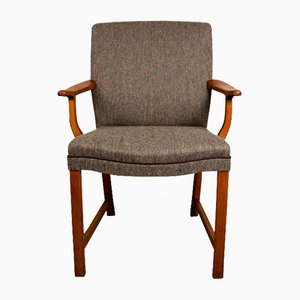 Norway Parliament Chair in Teak Armchair, 1950s