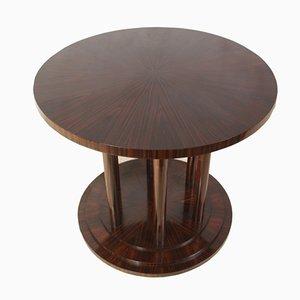 Tavolino vintage in ebano macassar