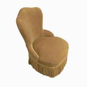 Chaise pour Enfants Vintage en Velours