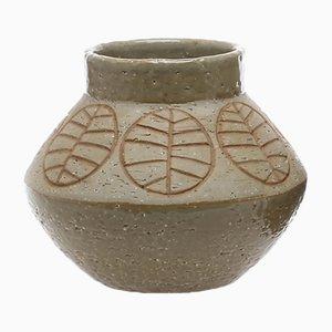 Vaso vintage in chamotte di Hertha Bengtsson per Rörstrand