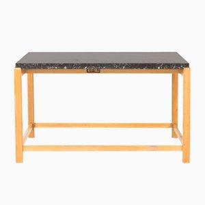 Tavolino da caffè in marmo di Carl-Axel Acking per Torsten Schollin, anni '50