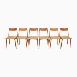 Vintage Boomerang Stühle aus Teak von Alfred Christensen für Slagelse, 6er Set