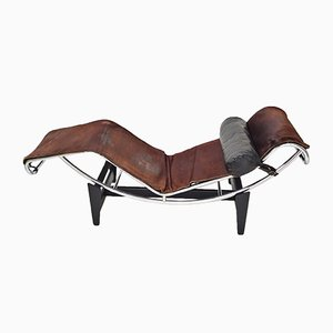 Chaise Longue Early (first 550) LC4 par Le Corbusier, Charlotte Perriand & Pierre Jeanneret pour Cassina, 1960s