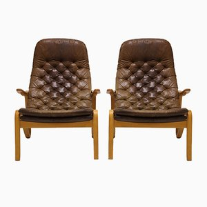 Vintage Metro Easy Chairs By Sam Larsson For Dux, 1970s, Set of 2