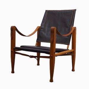 Chaise Safari Vintage par Kaare Klint pour Rud. Rasmussen