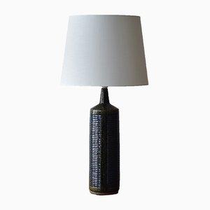 Lámpara de mesa escandinava grande de Per Linnemann-Schmidt para Palshus, años 60