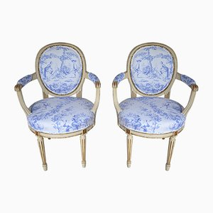 Gustavian Chairs, 1880, Set of 2