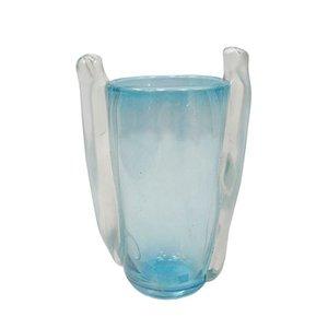Murano Glas Vase von Seguso Vetri d'Arte, 1960er