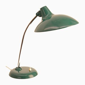 Vintage 6786 Table Lamp with Green Shade by Christian Dell for Kaiser Idell