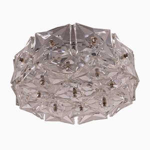 Mid-Century Glass Flush Mount from Kinkeldey
