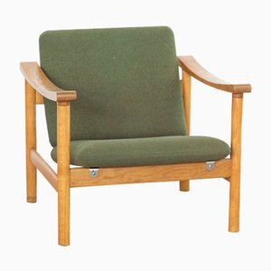 Mid-Century Oak Armchair by Hans J. Wegner for Getama