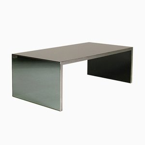 Tavolo basso modello Four Corners di Nanda Vigo per Driade, 1971