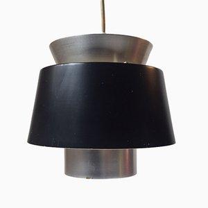 Lámpara colgante danesa Mid-Century de Jørn Utzon para Nordisk Solar, años 60