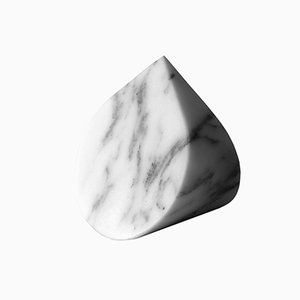 Paperweight Type A in Arabescato Corchia Marble by Michael Anastassiades for Salvatori