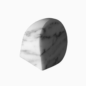 Paperweight Type B in Arabescato Corchia Marble by Michael Anastassiades for Salvatori