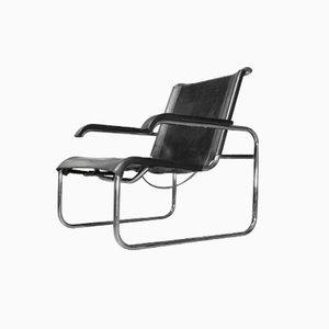 S 35 Sessel aus Stahlrohr von Marcel Breuer für Thonet, 1970er