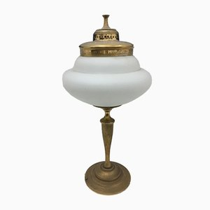 Lámpara de mesa italiana Mid-Century de Guglielmo Ulrich para FILC Milano