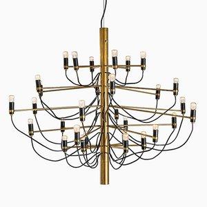 Lámpara de araña 2097/3 Mid-Century de Gino Sarfatti para Arteluce