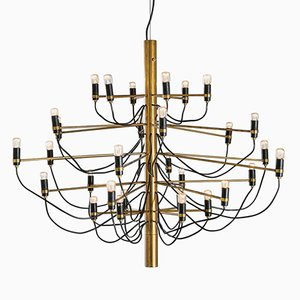 Mid-Century 2097/30 Chandelier by Gino Sarfatti for Arteluce