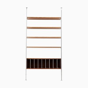Mid-Century CSS Rosewood Wall Unit by George Nelson for Herman Miller