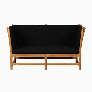 Model 1789 Spoke Back Sofa by Børge Mogensen for Fritz Hansen A/S, 1970s